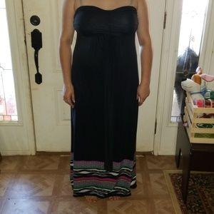 Soma strapless dress